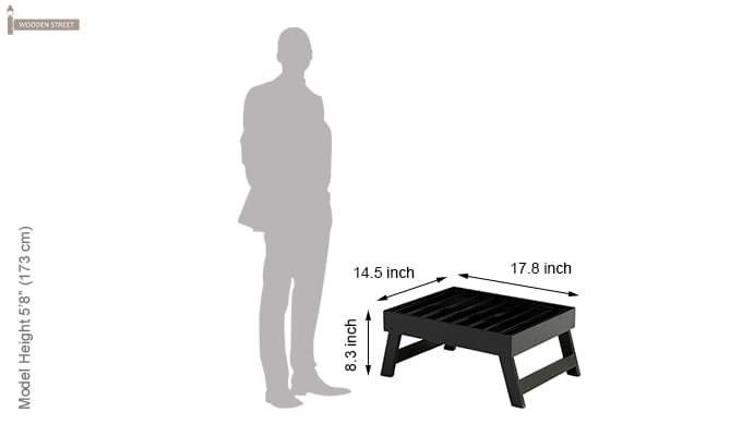 Abbey Laptop Table (Black)-5