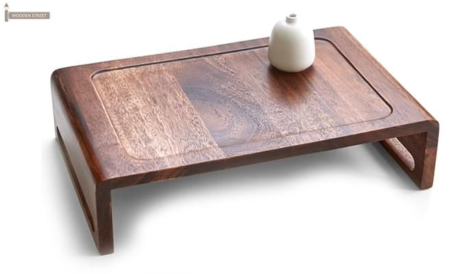 Jared Breakfast Table (Teak Finish)-4