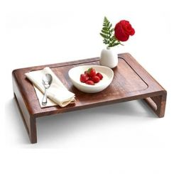 Jared Breakfast Table (Teak Finish)