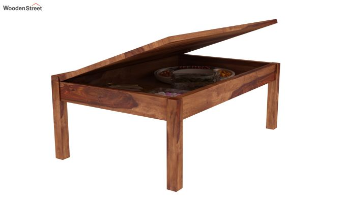 Peeta Breakfast Table  (Teak Finish)-2