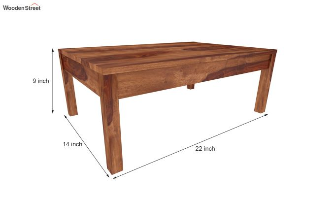 Peeta Breakfast Table  (Teak Finish)-5