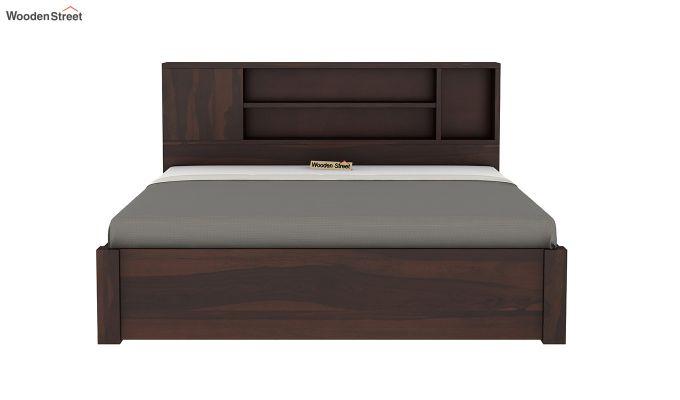 Alanzo Bed With Storage (King Size, Walnut Finish)-7