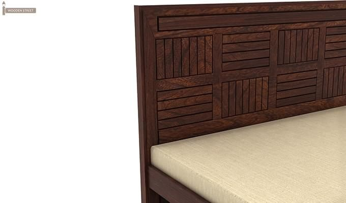 Libron Bed With Storage (Queen Size, Walnut Finish)-9