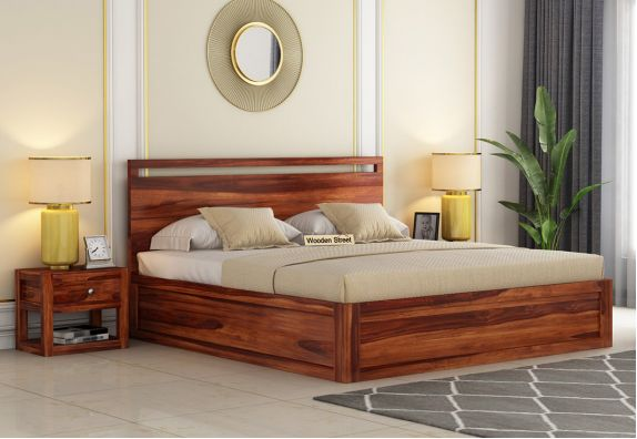 5 Best solid wood hydraulic bed designs online