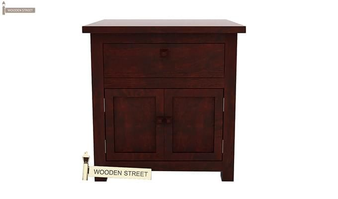 Christina Bedside Table (Mahogany Finish)-3