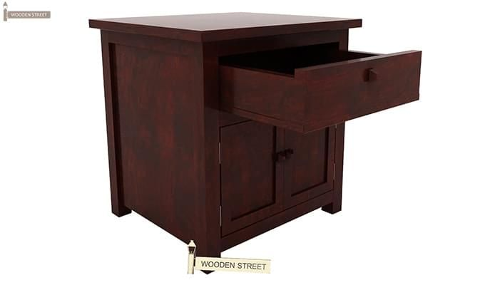 Christina Bedside Table (Mahogany Finish)-4
