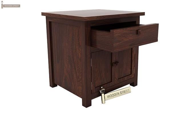 Christina Bedside Table (Walnut Finish)-2