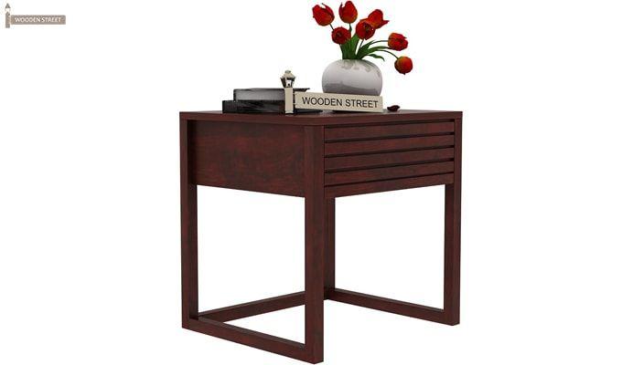 Costas Bedside Table (Mahogany Finish)-1