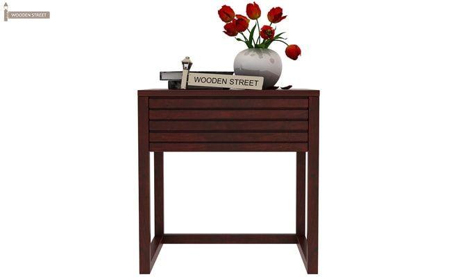 Costas Bedside Table (Mahogany Finish)-2