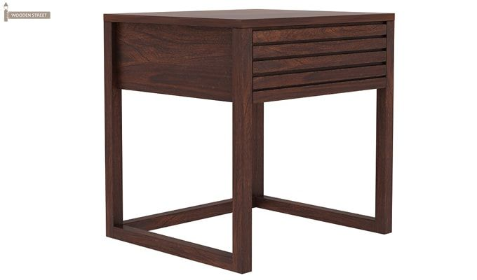 Costas Bedside Table (Walnut Finish)-4