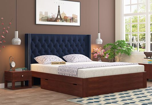 Upholstered Beds With Storage