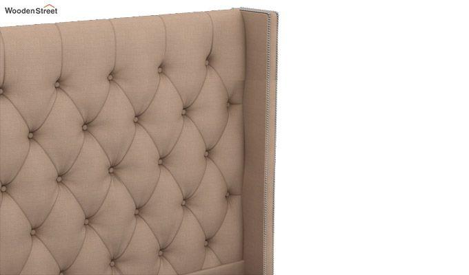 Drewno Upholstered Bed With Storage (King Size, Irish Cream)-6