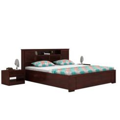 Ferguson Hydraulic Bed (King Size, Mahogany Finish)