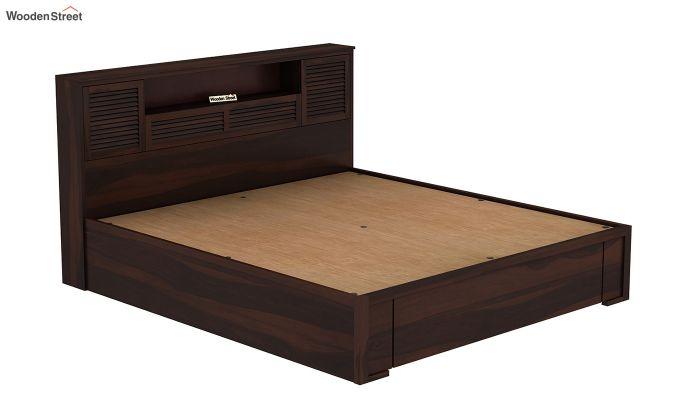 Ferguson Hydraulic Bed (Queen Size, Walnut Finish)-6