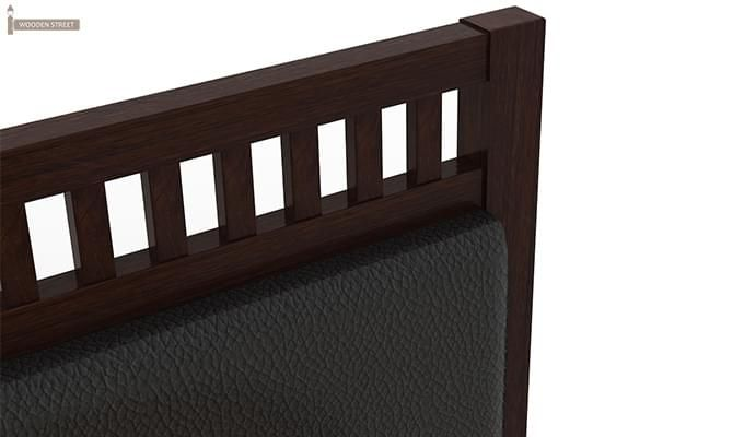 Javert Bed With Storage (King Size, Walnut Finish)-11