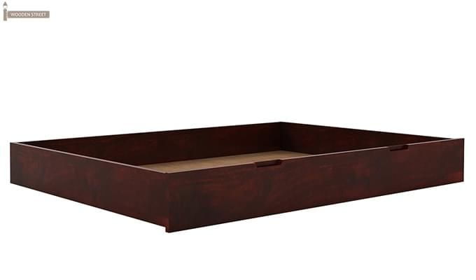 Lynet Bed With Storage (King Size, Mahogany Finish)-8