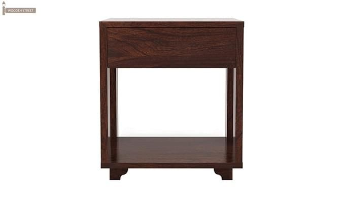 Lynet Bedside Table (Walnut Finish)-2