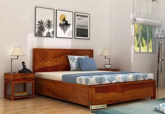 wooden hydraulic bed new designs at best price india