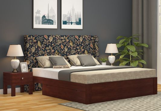 Fabric Upholstered Beds Online India