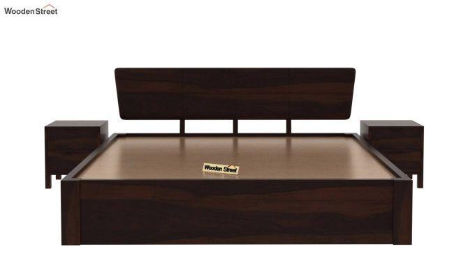 Pomona Bed With Storage (Queen Size, Walnut Finish)-5