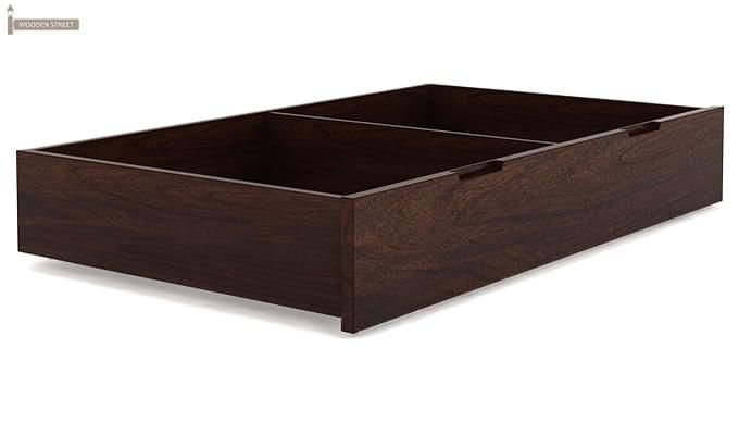 Sefra Bed With Storage (King Size, Walnut Finish)-11