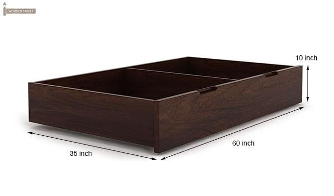 Sefra Bed With Storage (King Size, Walnut Finish)-13