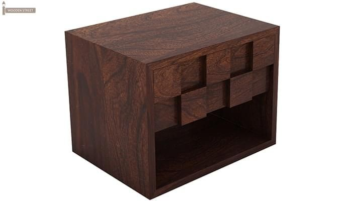 Travis Bedside Table (Walnut Finish)-3