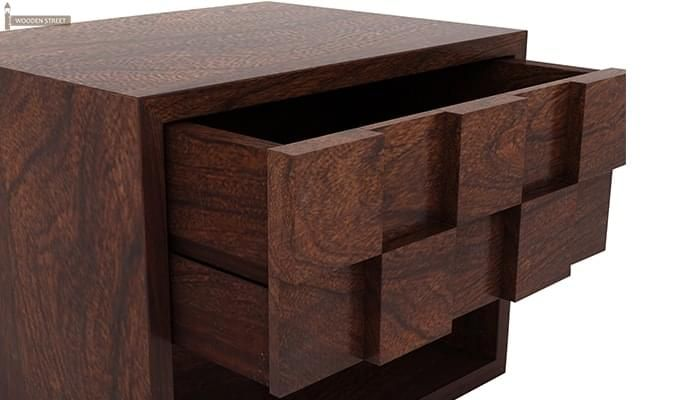 Travis Bedside Table (Walnut Finish)-5