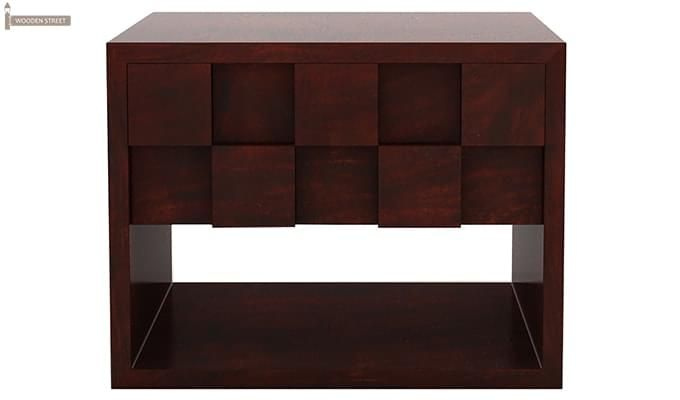 Travis Bedside Table (Mahogany Finish)-4