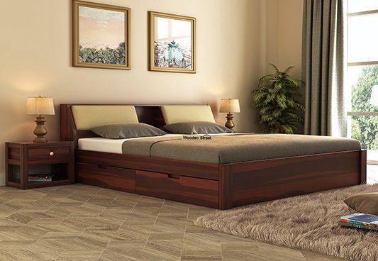 Double Bed Buy Wooden Double Bed Online Upto 55 Off At Wooden Street