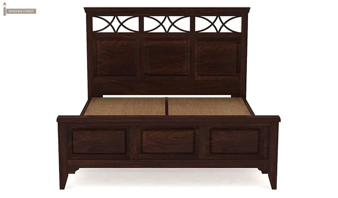 Allan Bed (King Size, Walnut Finish)-7