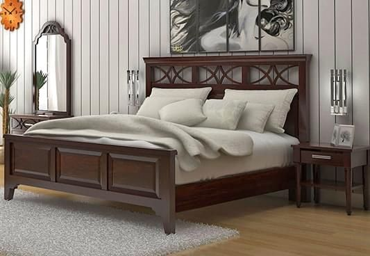 Buy Online King Size Beds Online Wooden