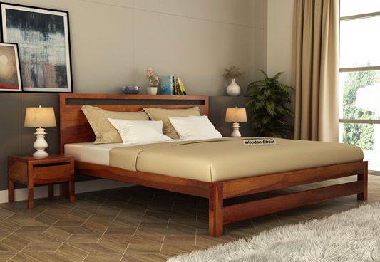 Beautiful Queen Size Bed Designs & Queen Size Bed - Buy Wooden Queen Beds Online Upto 55% Off