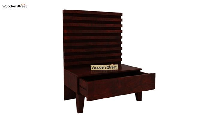 Breo Bed Without Storage (Queen Size, Mahogany Finish)-7