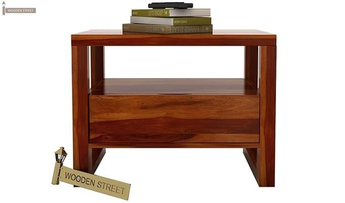 Bryson Bedside Table (Honey Finish)-4