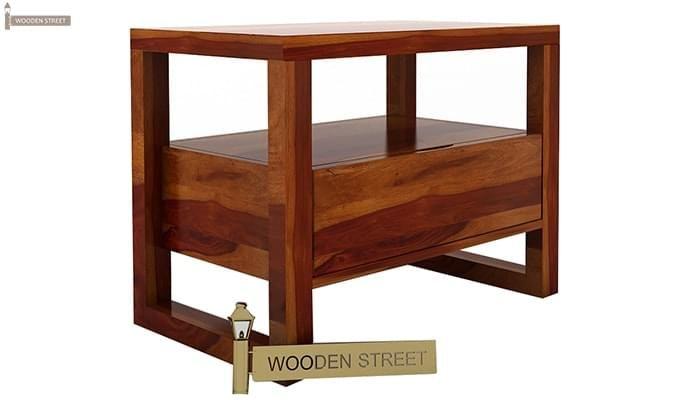 Bryson Bedside Table (Honey Finish)-5