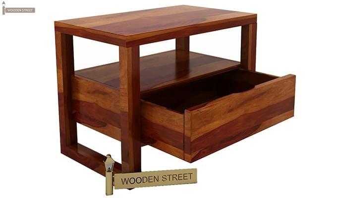 Bryson Bedside Table (Honey Finish)-6