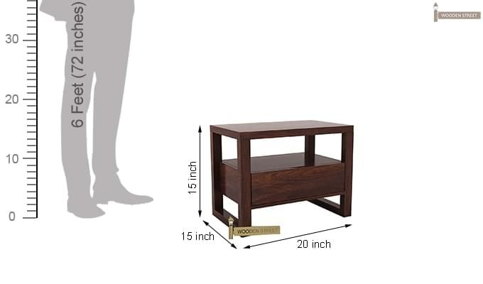 Bryson Bedside Table (Walnut Finish)-6