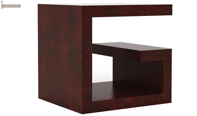 Carden Bedside Table (Mahogany Finish)-4