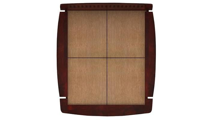 Carden Designed Low Floor Platform Bed (Queen Size, Mahogany Finish)-6
