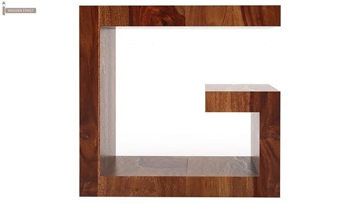 Carden Bedside Table (Teak Finish)-3