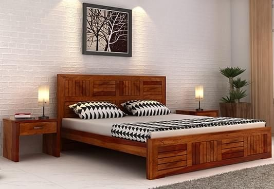 Indian queen size double beds online