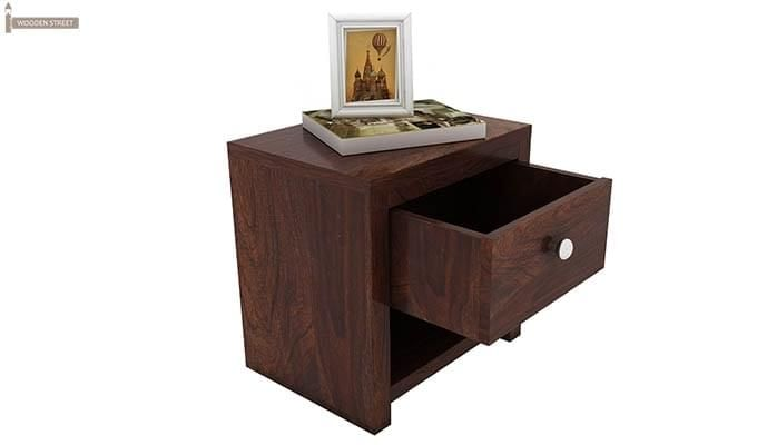 Denzel Bedside Table (Walnut Finish)-4
