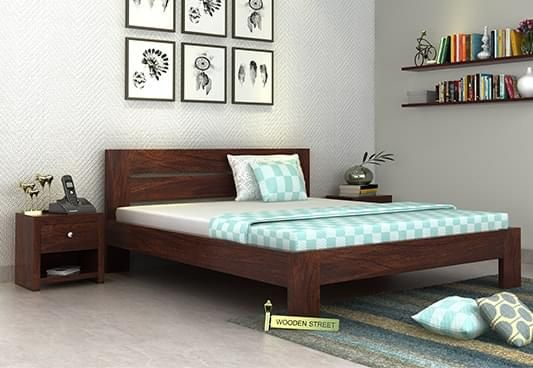 Queen Size Bed without storage online in India