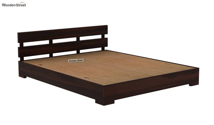Downey Bed (Queen Size, Walnut Finish)-6