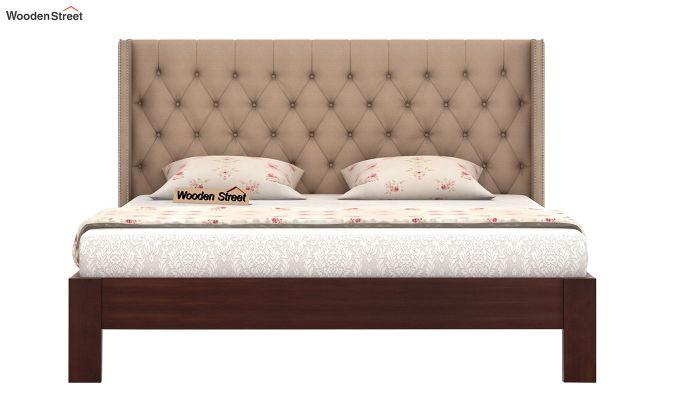 Drewno Upholstered Bed Without Storage (King Size, Irish Cream)-3