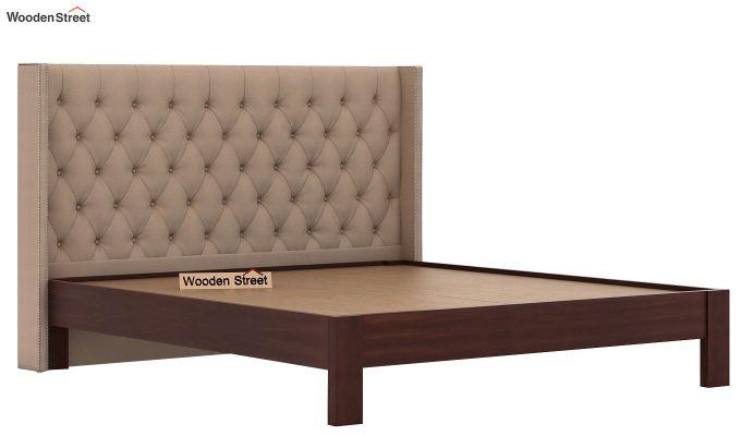 Drewno Upholstered Bed Without Storage (King Size, Irish Cream)-5