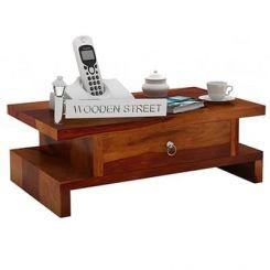 Dwayne Bedside Table (Honey Finish)