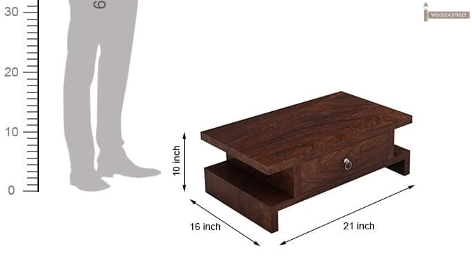Dwayne Bedside Table (Walnut Finish)-6