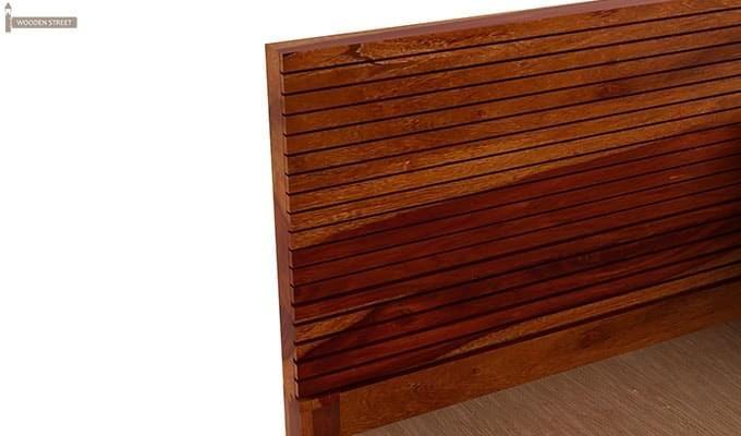 Felner Bed Without Storage (King Size, Honey Finish)-6